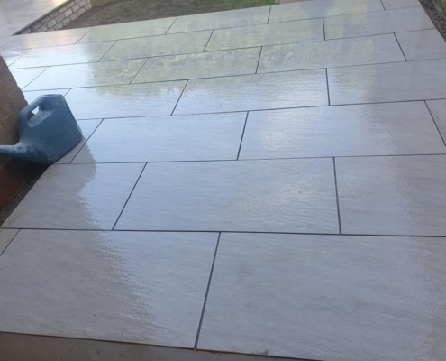 porcelain patio paving streetly sutton coldfield